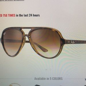 Cats 5000 classic ray bans